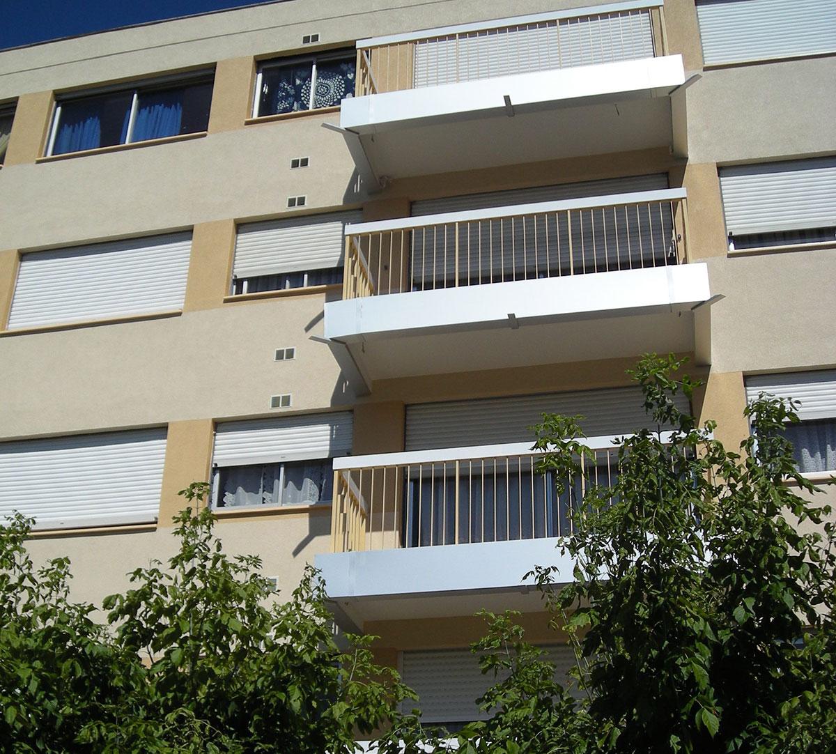 Réalisation Habillage Rive Balcon : image 1