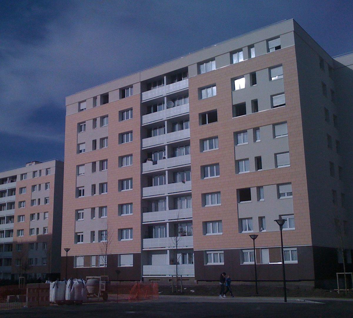 Réalisation Encadrement de fenêtres sur vetage : image 1