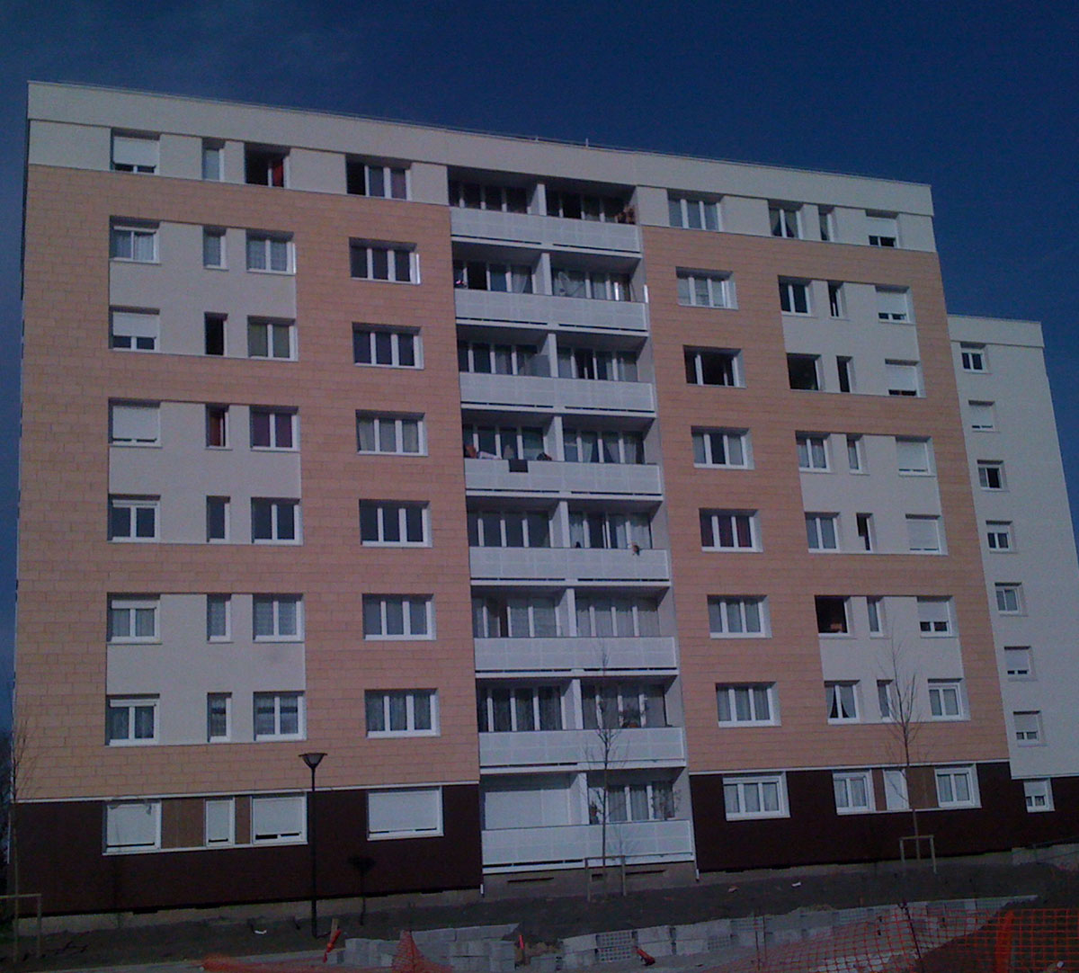Réalisation Encadrement de fenêtres sur vetage : image 2
