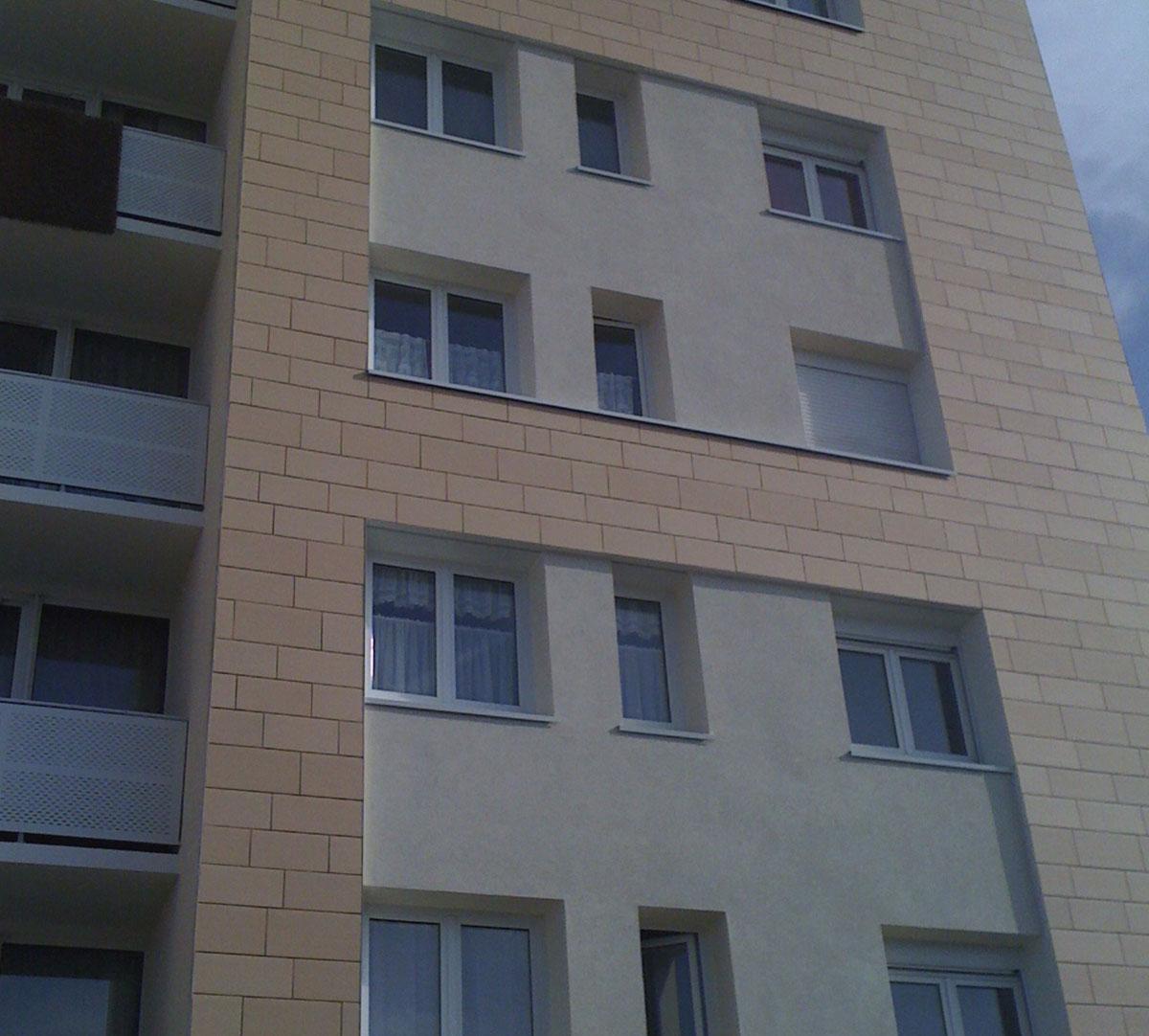 Réalisation Encadrement de fenêtres sur vetage : image 4