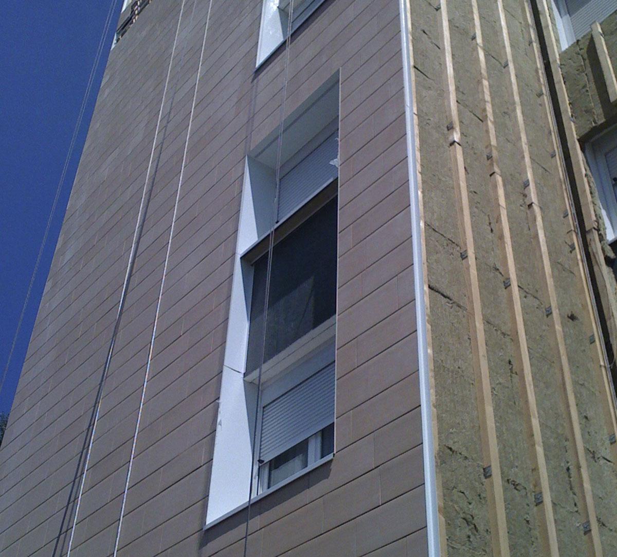 Réalisation Encadrement de fenêtres sur vetage : image 8