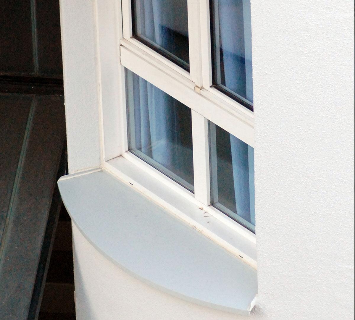 Réalisation Bavette d'appuie fenêtre cintrée : image 1