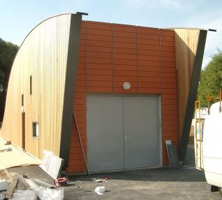 réalisation Station d'Epuration et Couvertine Ondulée -22-1