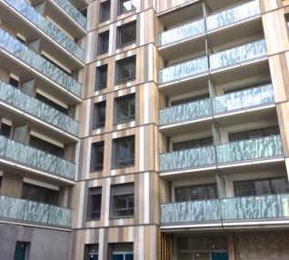 réalisation Encadrement de fenêtres et couvertines d'acrotères sur bardage bois-5-2