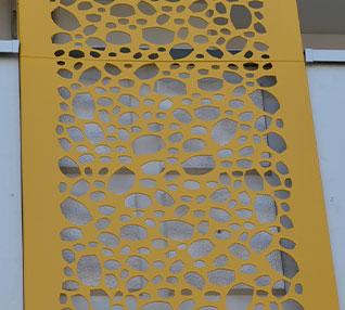 réalisation Cassette perforées effet nid d'abeilles-69-5