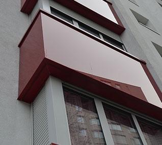 réalisation Bavettes d'appuis rouge et blanche-66-4