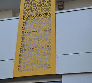 réalisation Cassette perforées effet nid d'abeilles-69-4