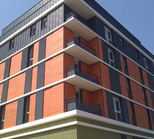 réalisation Entourage de baie immeuble d'habitations -2-1