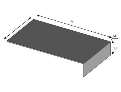 BA30 - Patte simple de fixation de bavette