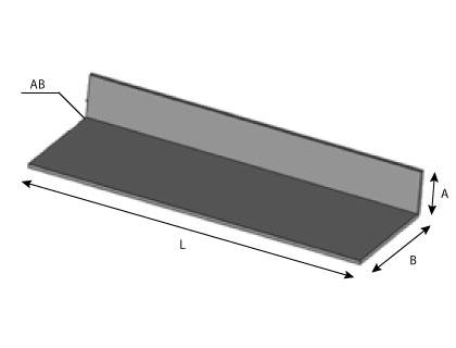 CD25 - Relevé d'extrémité pour couvertine