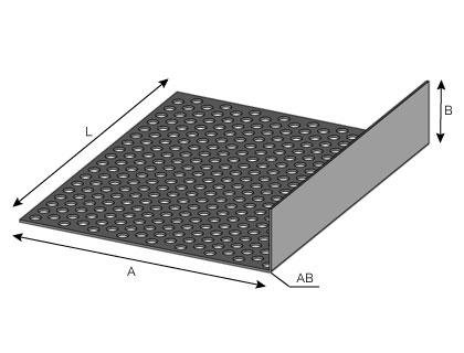 VB85 - Profilé de ventilation basse