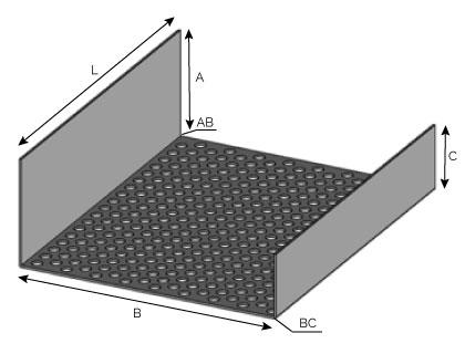 VB86 - Profilé de ventilation basse