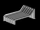 Image du produit : Patte avec pente extrudée - CD161